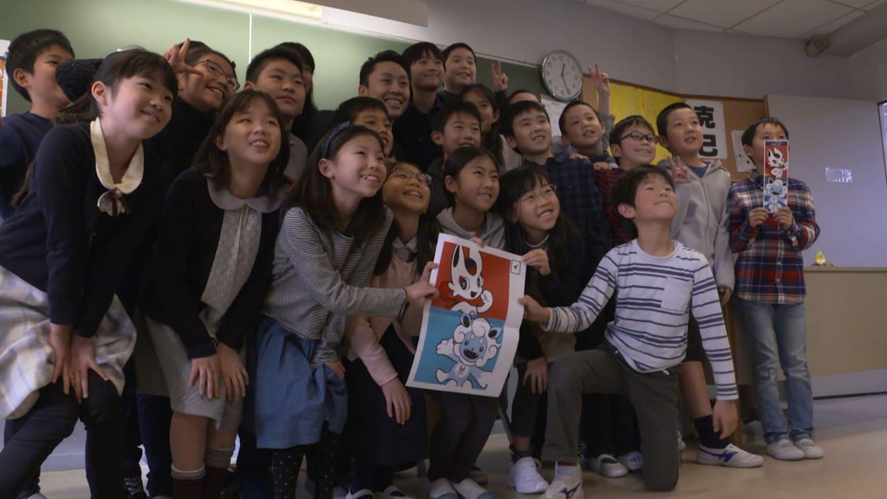 Paris school kids vote in Tokyo 2020 mascot race