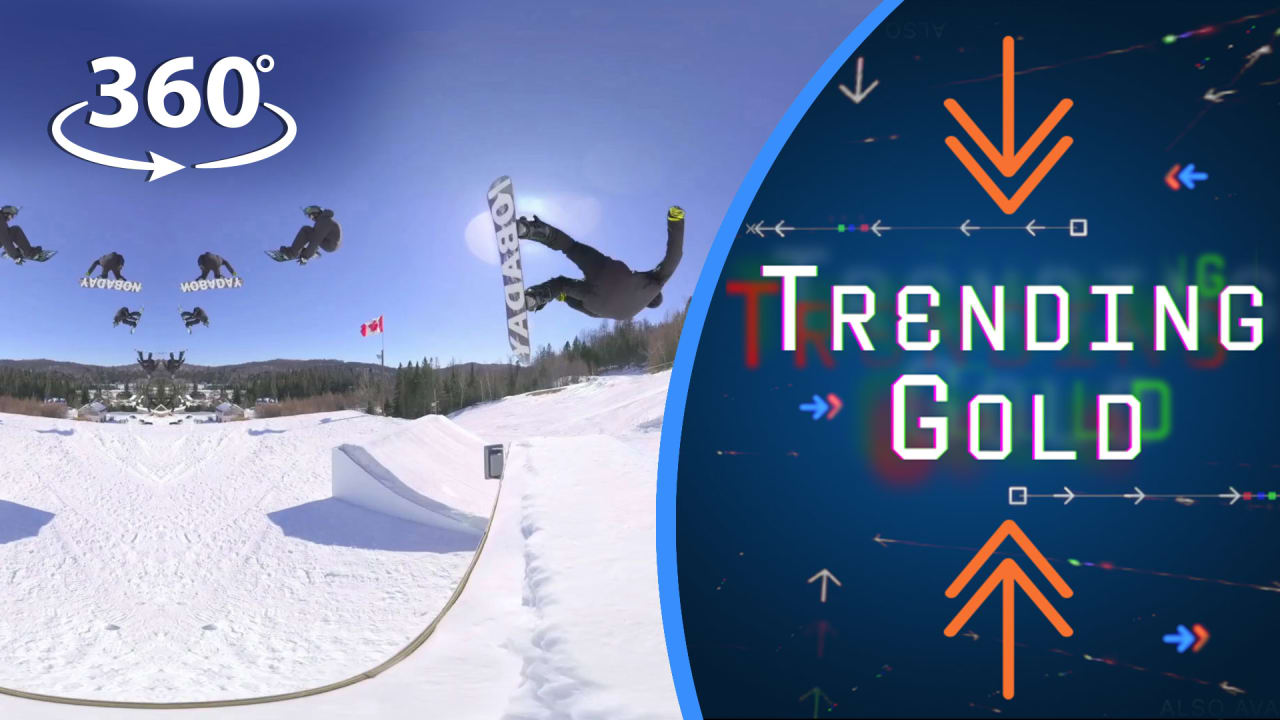 One Big Air: Jamie Anderson and Max Parrot Push Their Limits