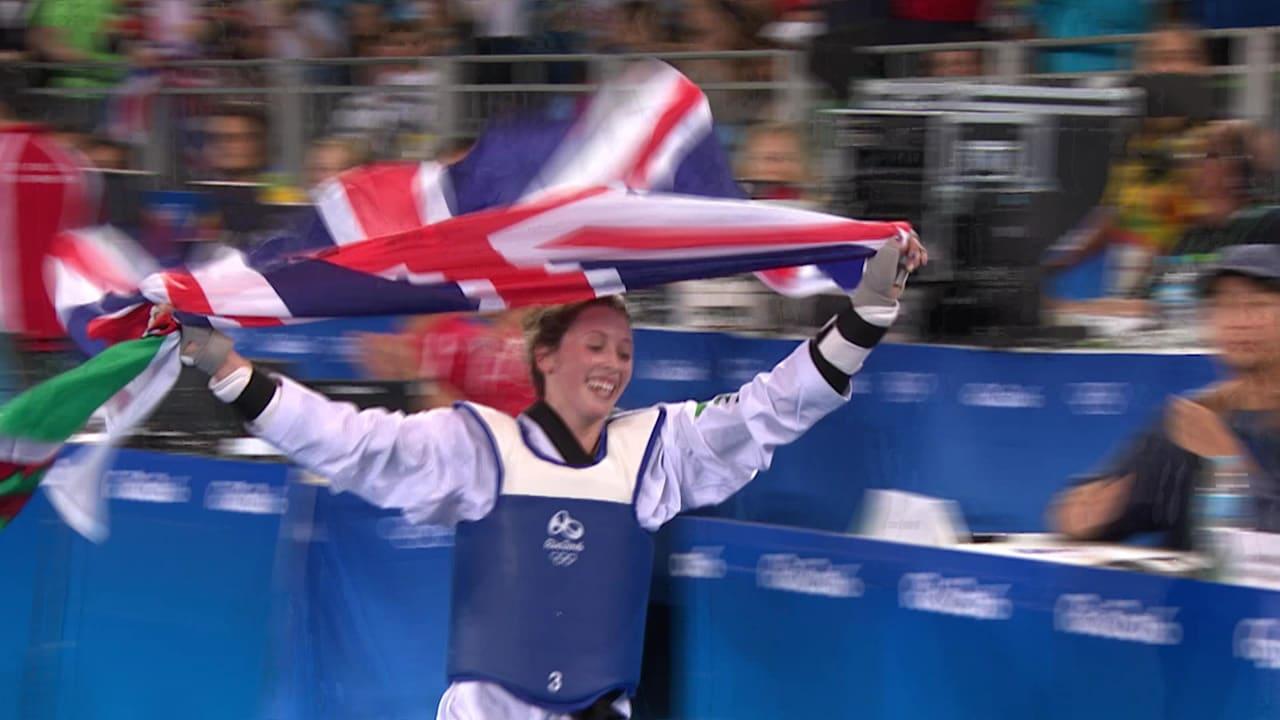 ジェイド・ジョーンズが2大会連続の金メダル