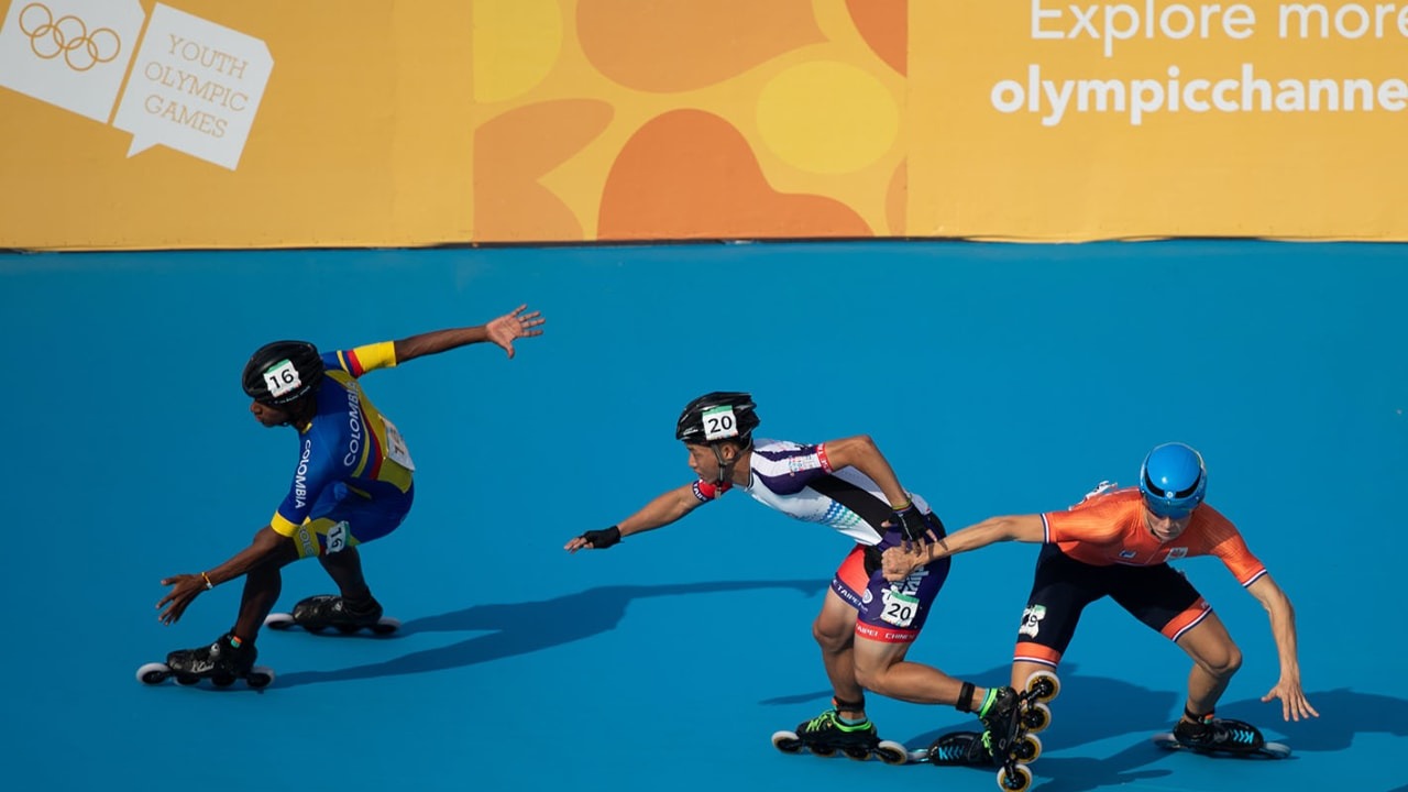 Combined 500m Sprint Finals - Roller Speed Skating   Buenos Aires 2018 YOG