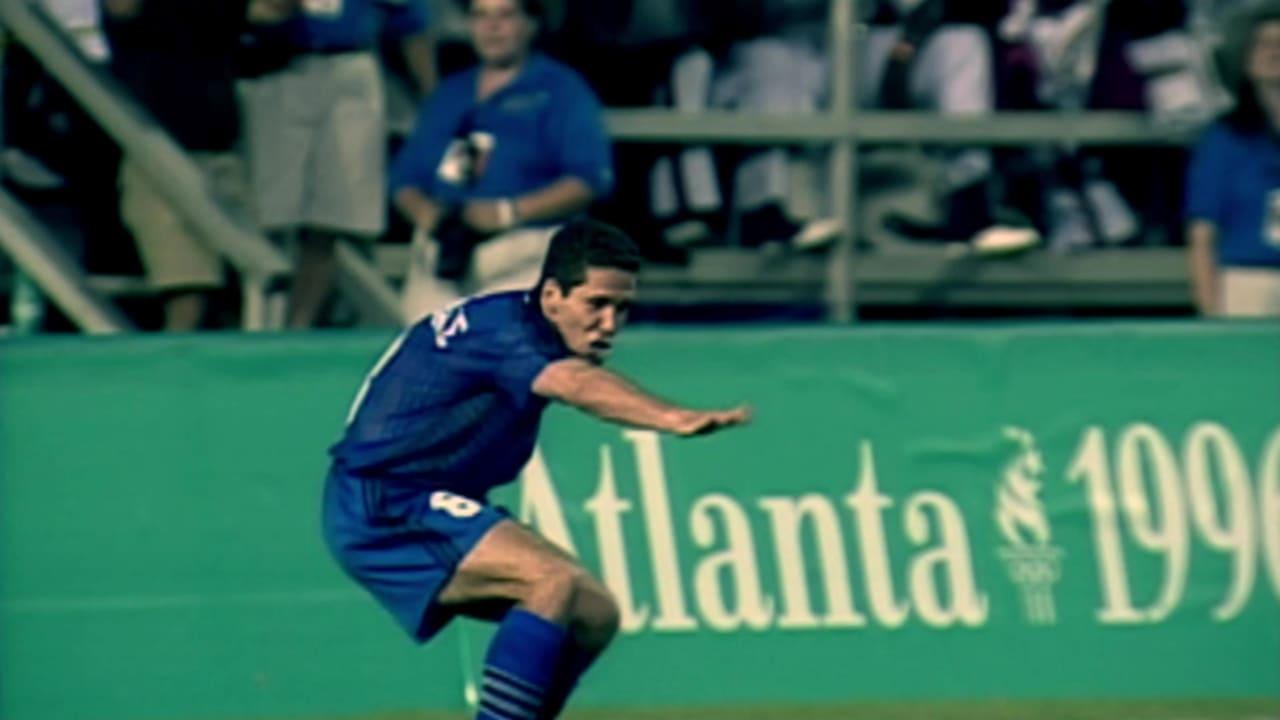 ディエゴ・シメオネがアトランタ1996で得点