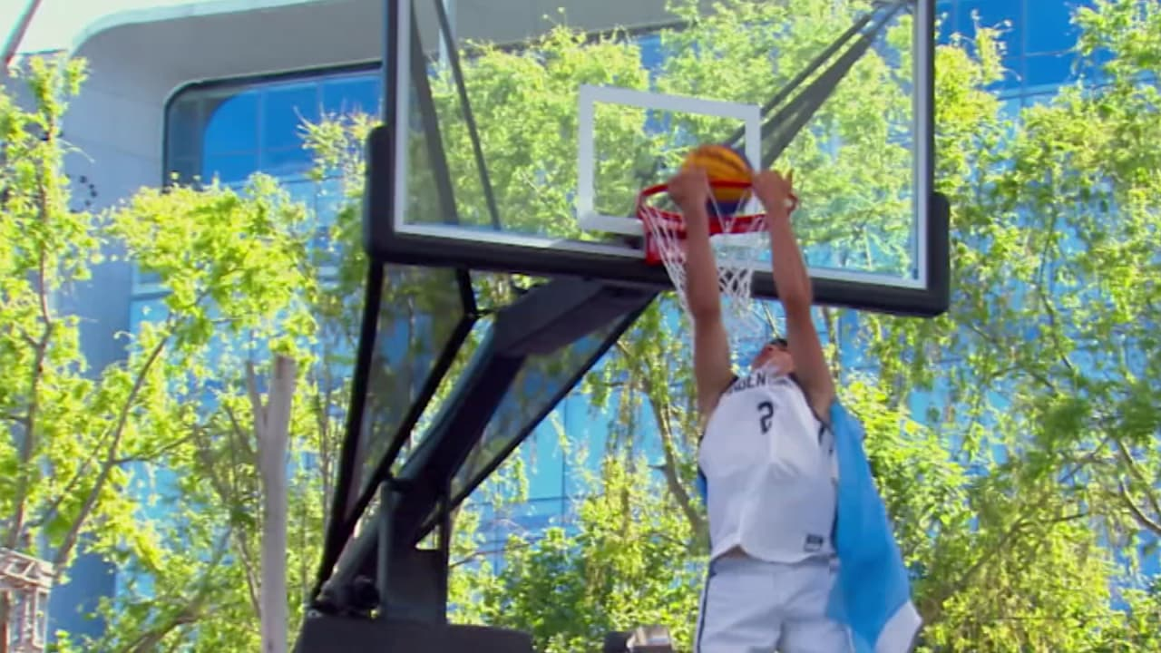 Watch the top five slams of the Dunk Contest
