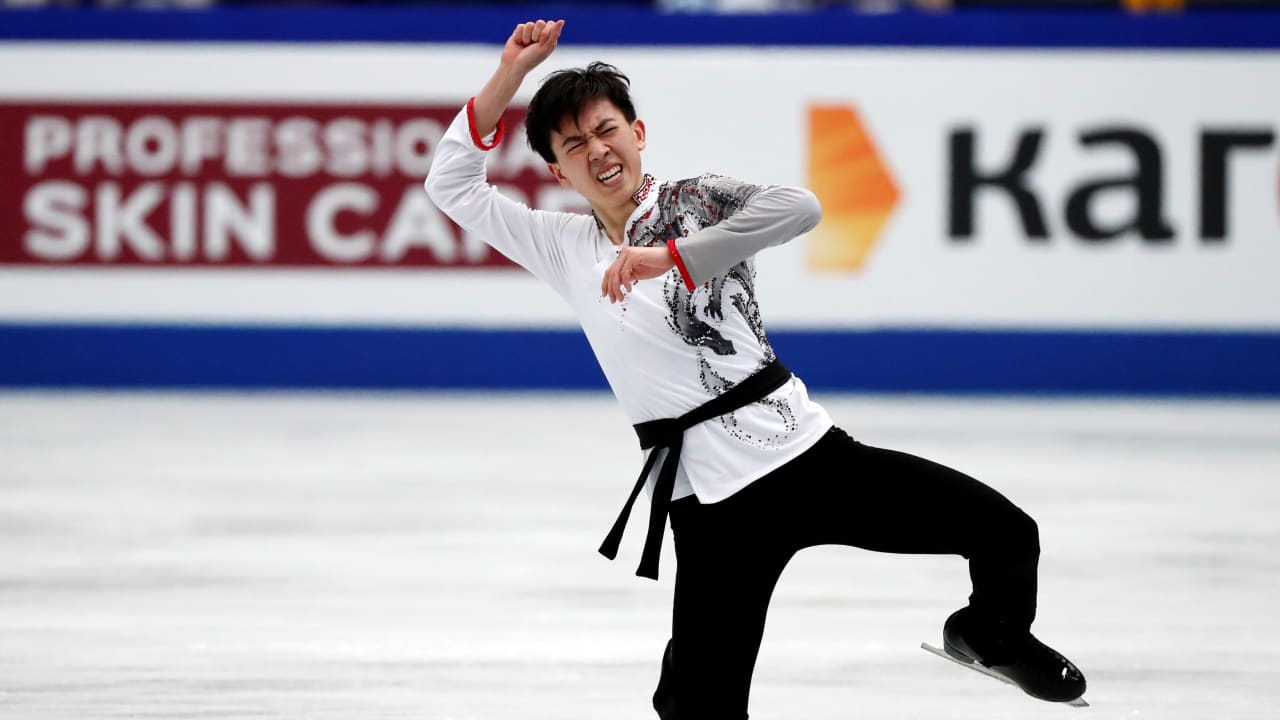 Vincent Zhou exclusive: