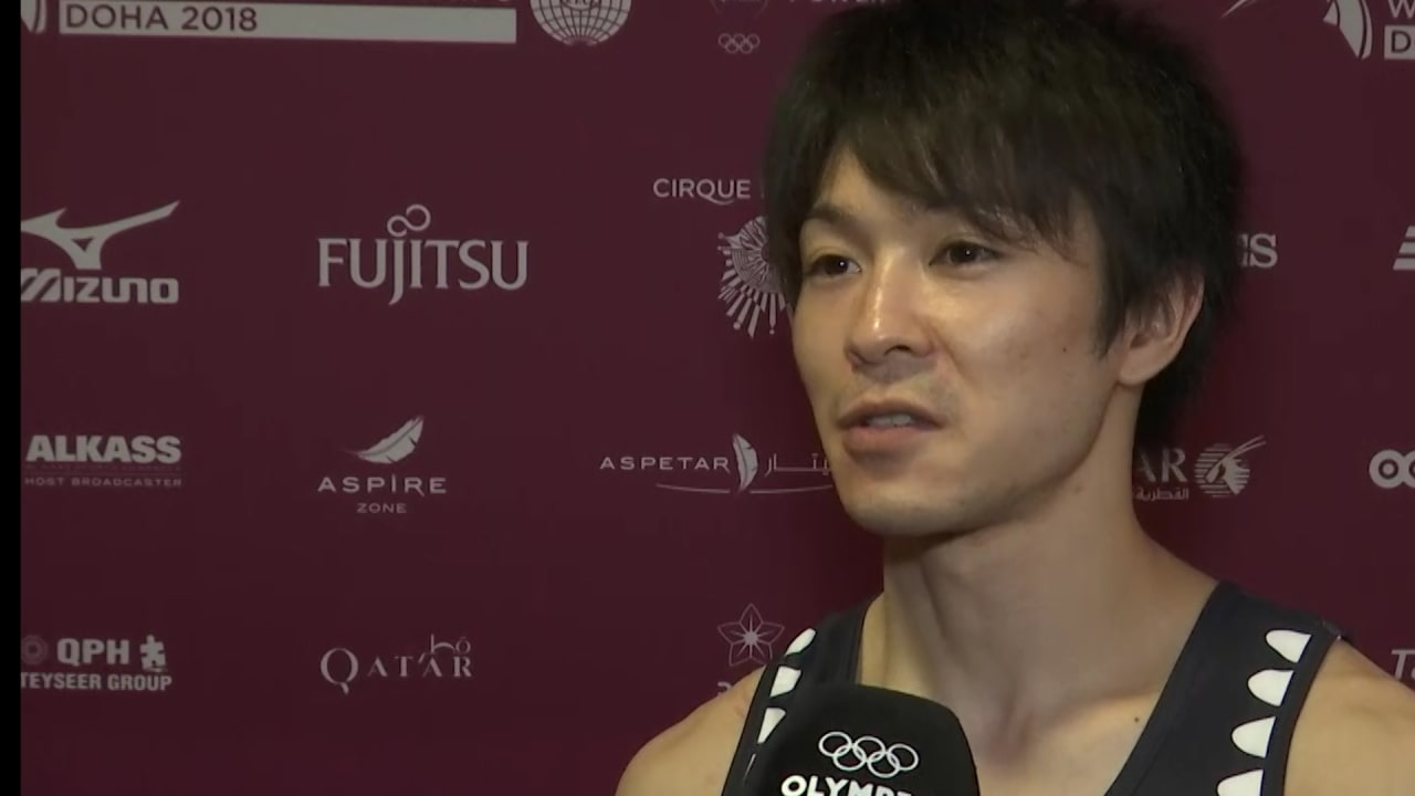 Uchimura puts team first at world championships