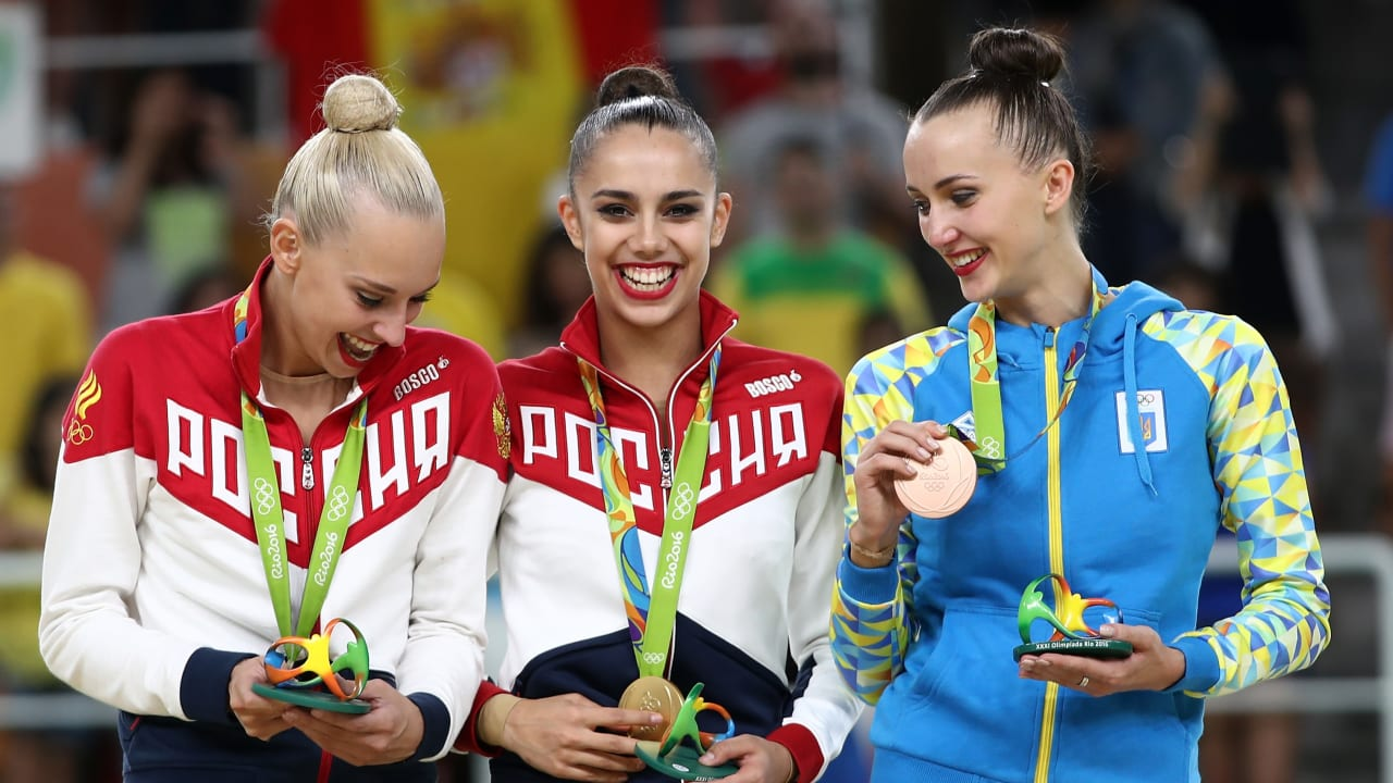 Margarita Mamun leads Russia one-two in Individual Rhythmic Gymnastics