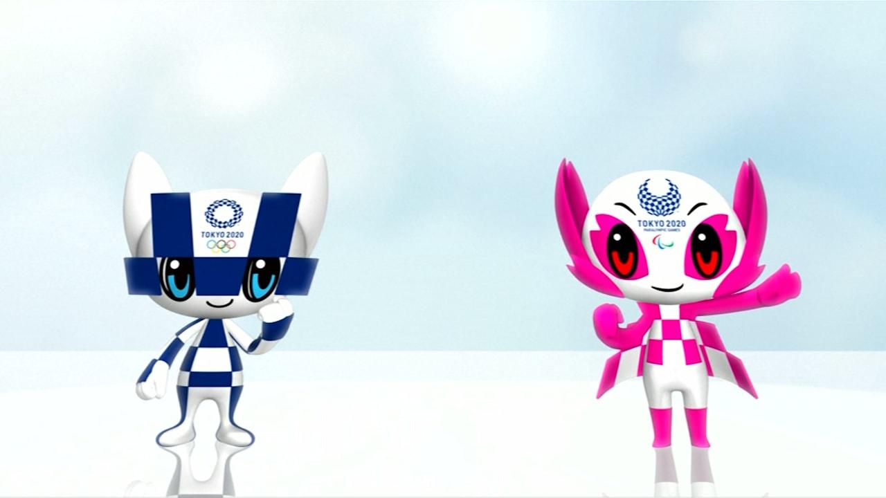 Tokyo 2020 reveals mascots
