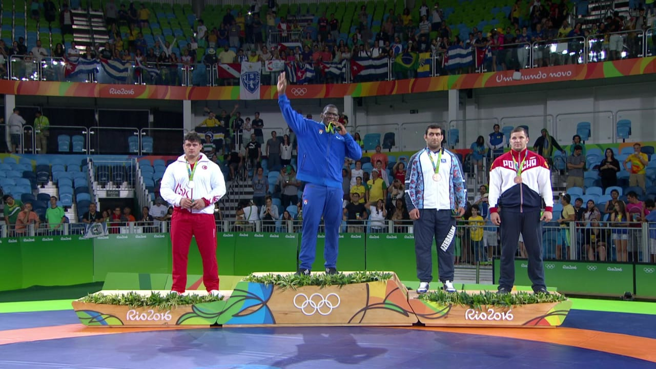 Lopez earns third Greco-Roman Wrestling gold