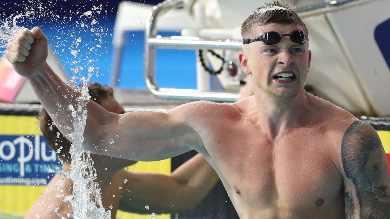 Peaty smashes world record again but who inspired him?