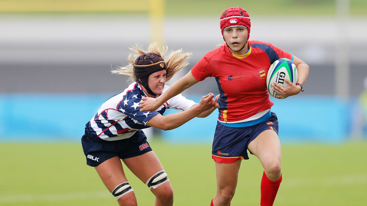 The beauty of Women's Rugby Sevens