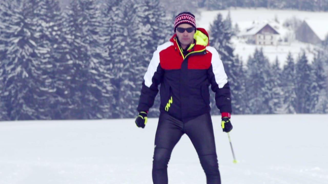 Chasing his dream - Pita Taufatofua learns to cross-country ski