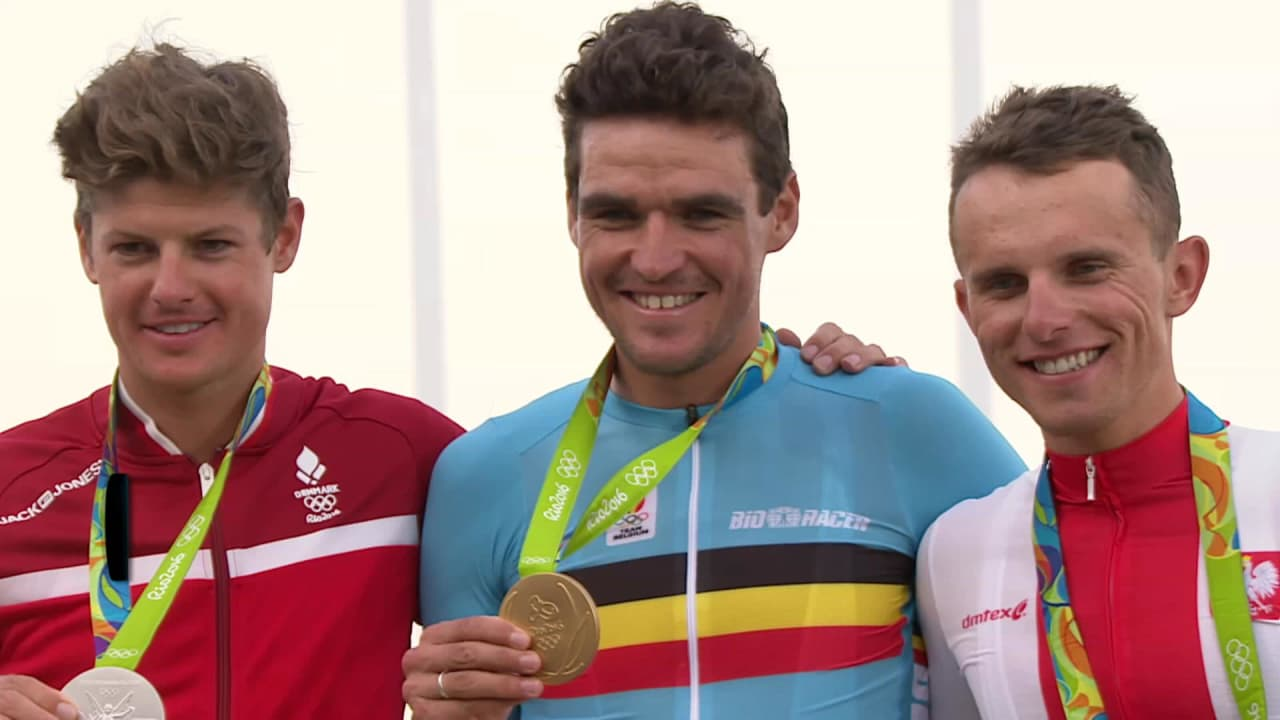 Van Avermaet wins gold in Men's Road Race