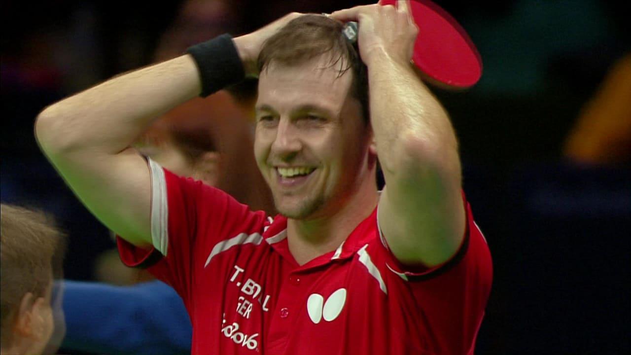 Germany's table tennis team take bronze