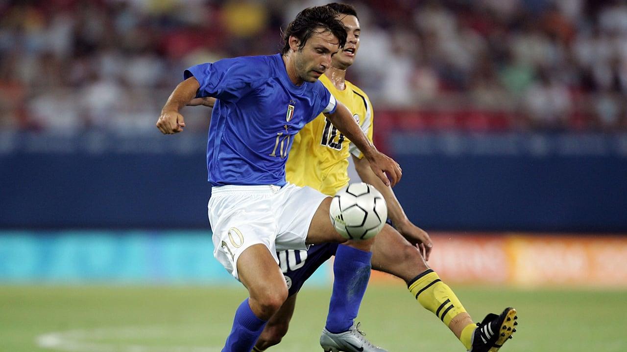 アンドレア・ピルロ:イタリアサッカー五輪代表の中心