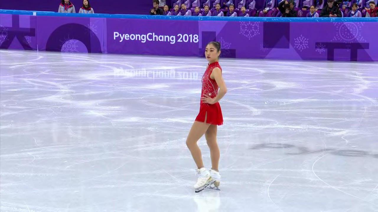 Mirai Nagasu first American woman to land triple axel in Olympics