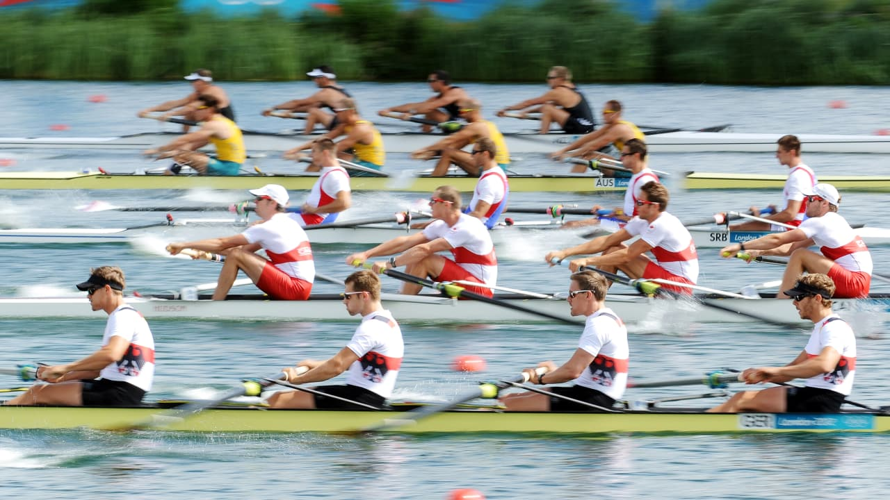 The beauty of Men's Rowing