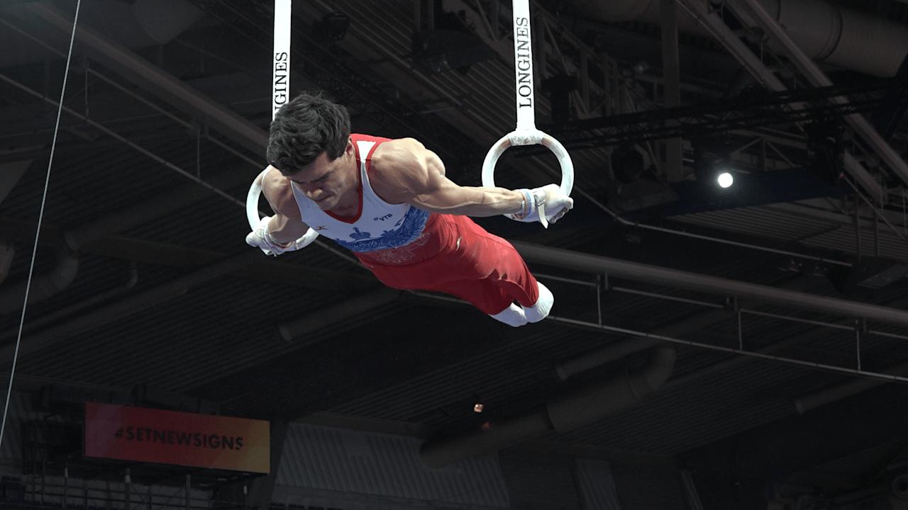 Highlights: Artur Dalaloyan on rings in podium training