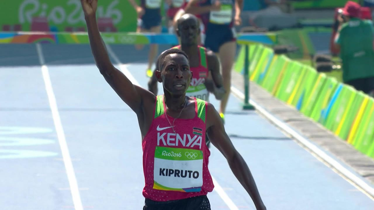 Kenya's Kipruto sets Olympic 3,000m record