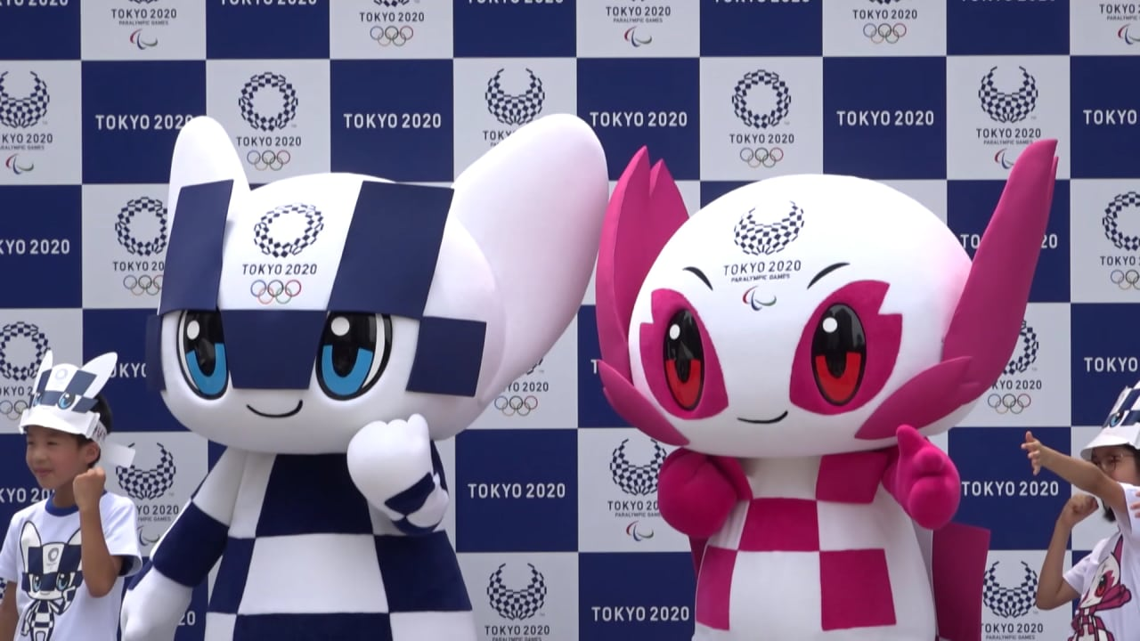 Miraitowa and Someity: Tokyo 2020 mascots make official debut