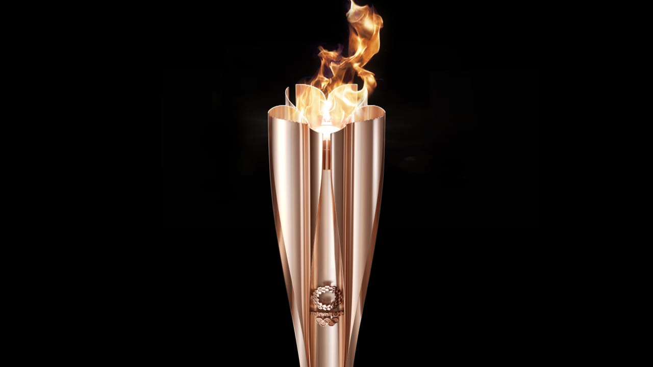 Olympic Torch for Tokyo 2020 is revealed!
