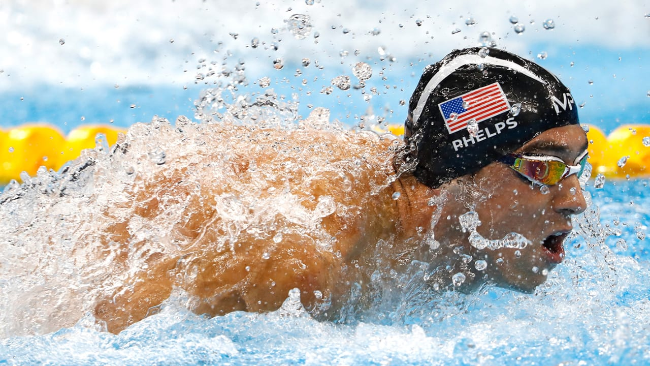 Michael Phelps: The Rio 2016 medal-winning races