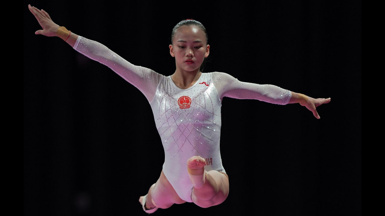 Gymnast Chen Yile is gaining confidence following her return from injury