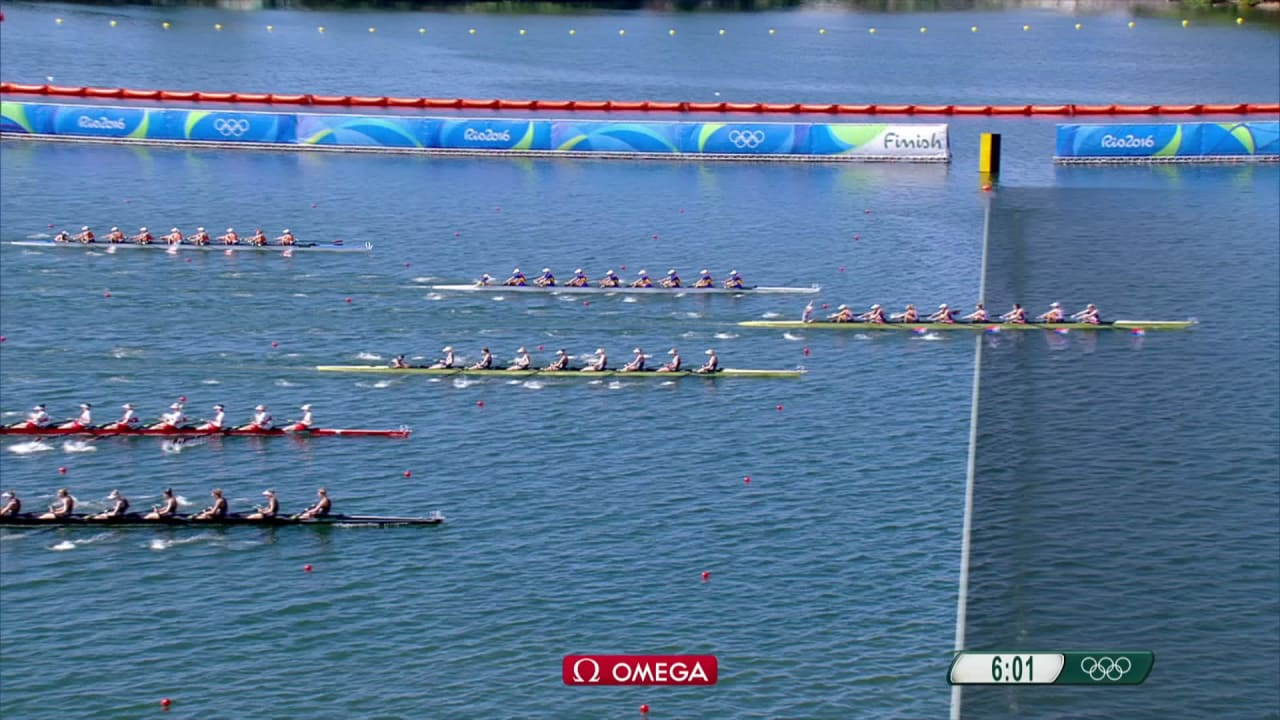 USA win gold in Women's Eight