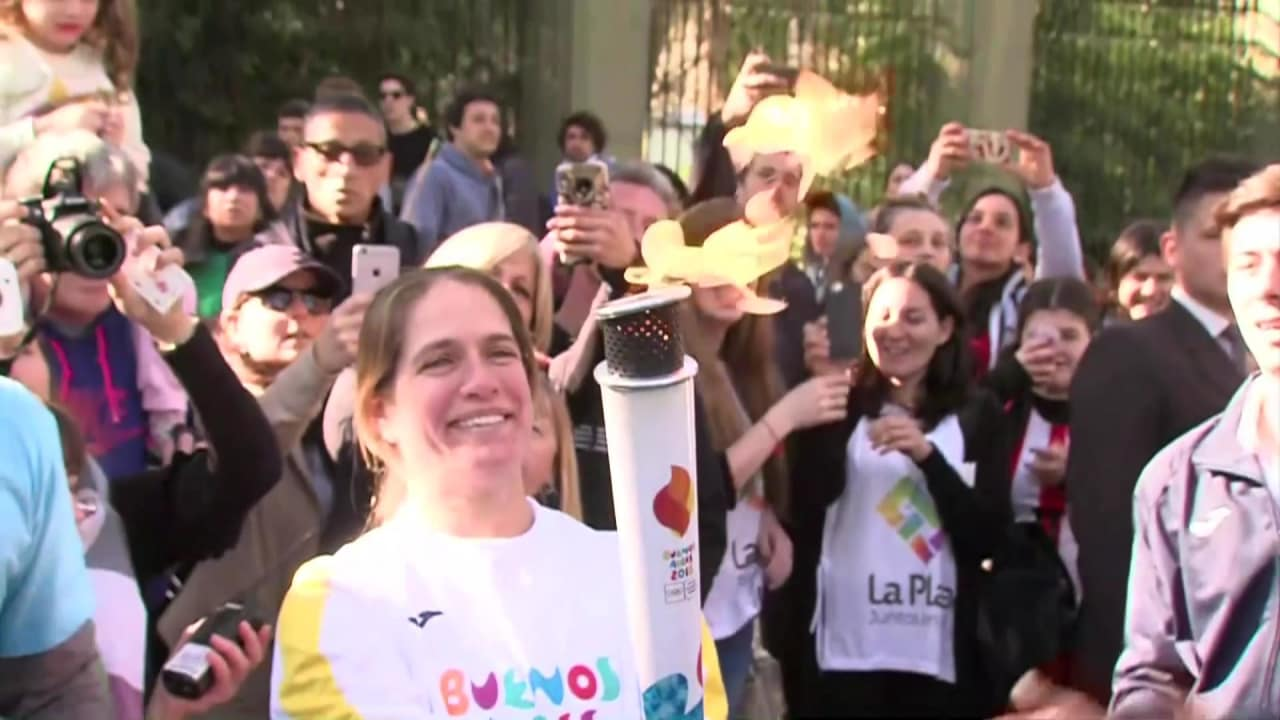 The Olympic flame begins its journey across Argentina ahead of YOG 2018