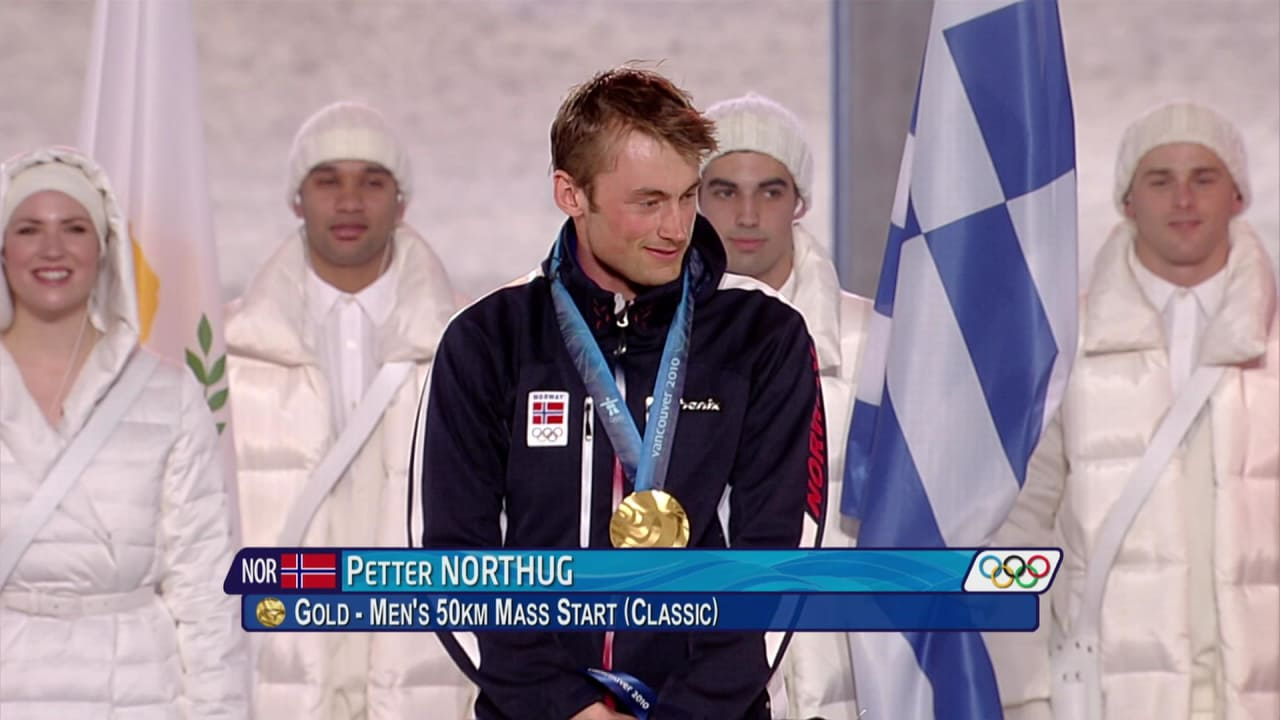 Northug wins gripping 50km skiing gold