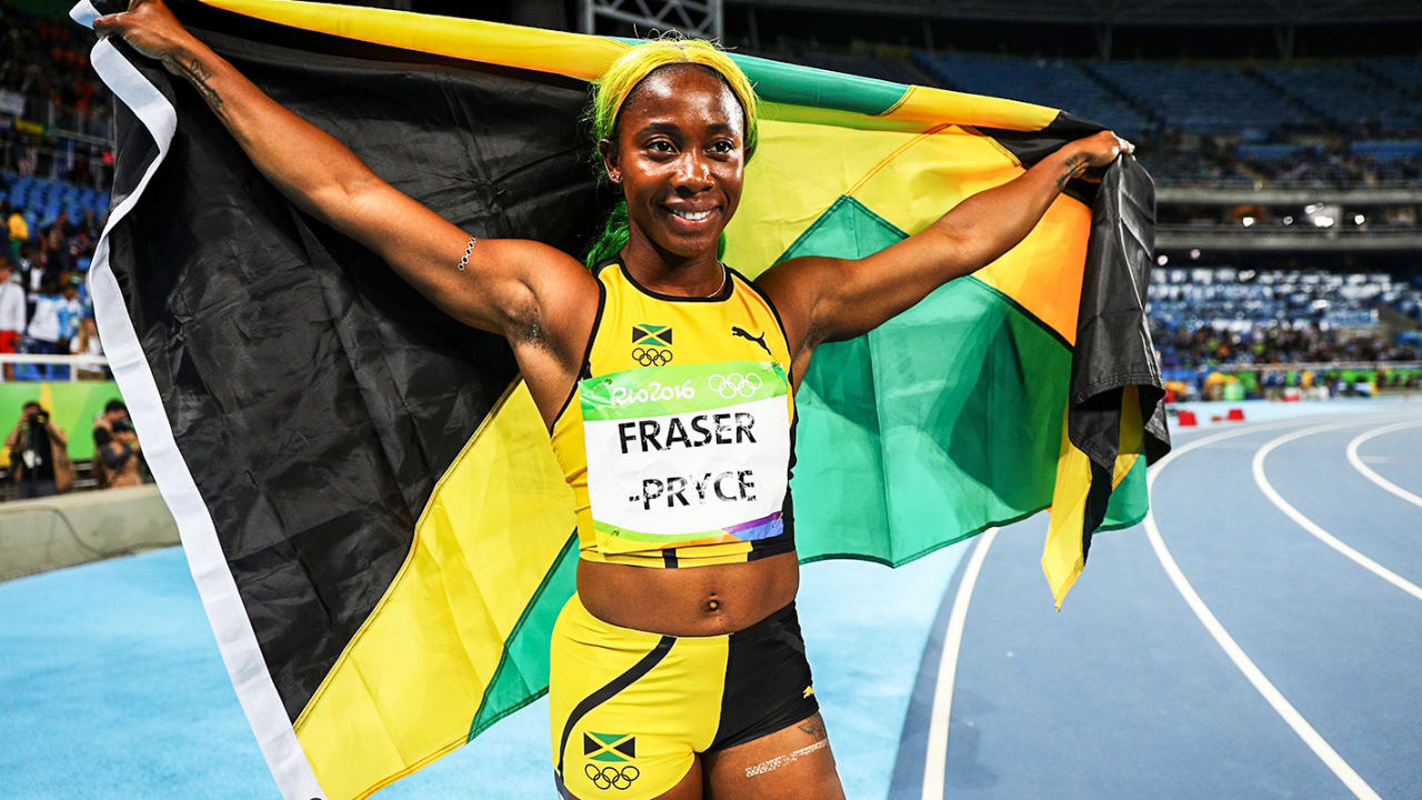 Shelly-Ann Fraser-Pryce: My Rio Highlights