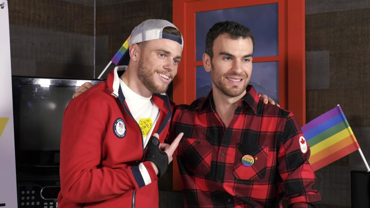 Gus Kenworthy and Eric Radford on being out and proud Olympians