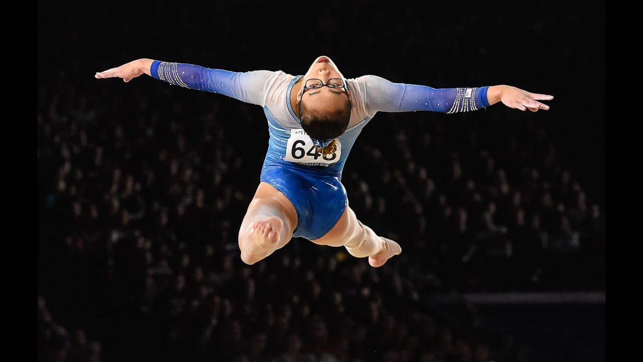 Meet surprise new All-Around World Champ Morgan Hurd