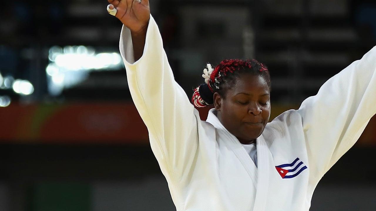 Why is Idalys Ortiz the pride of Cuba?