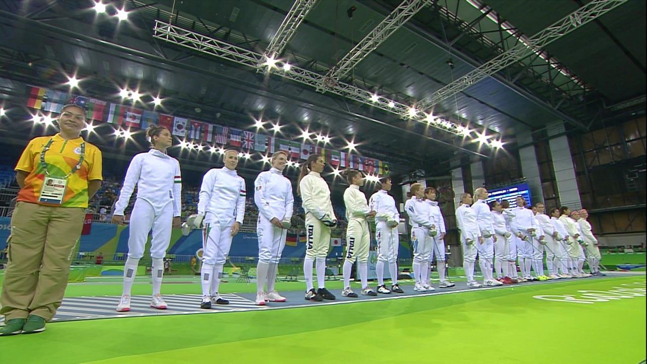 近代五種:女子フェンシング | リオ2016リプレイ