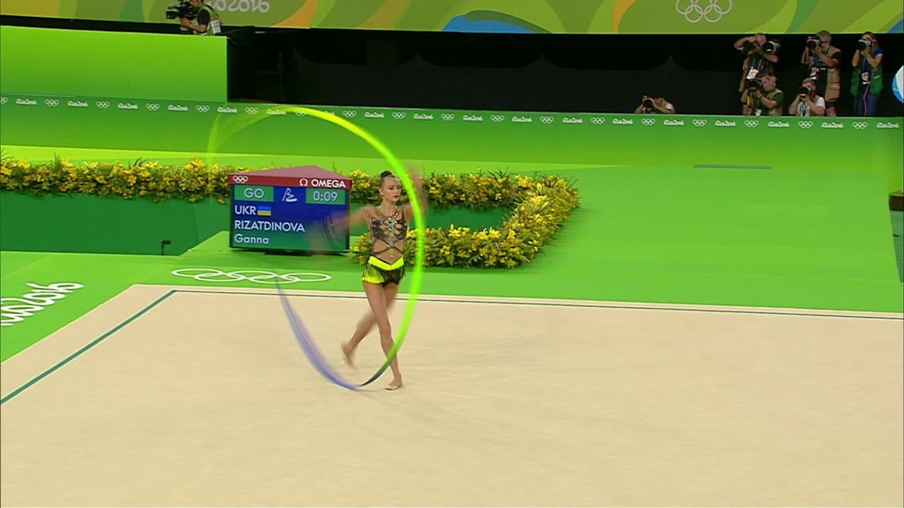 Russia take gold, silver in Individual Rhythmic Gymnastics