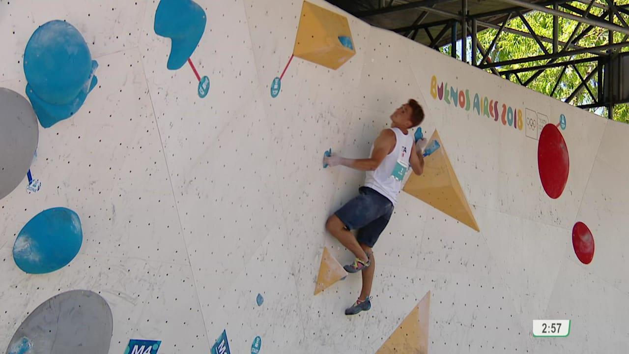 Men's Combined Final – Sport Climbing   YOG 2018 Highlights