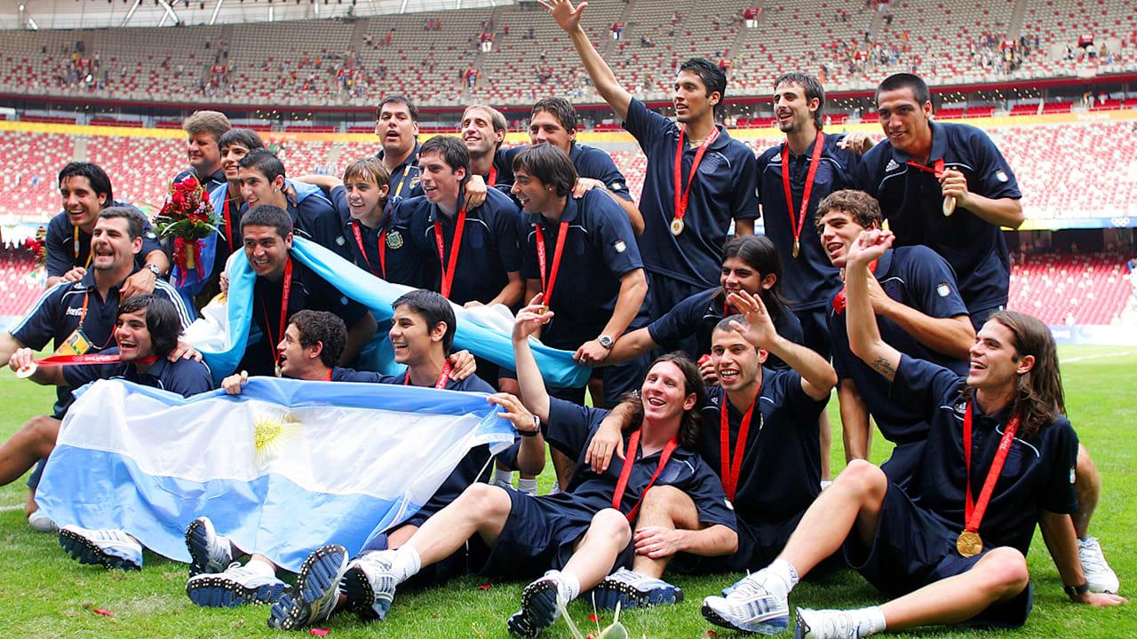 NGR vs ARG - サッカー男子決勝 | 北京2008リプレイ