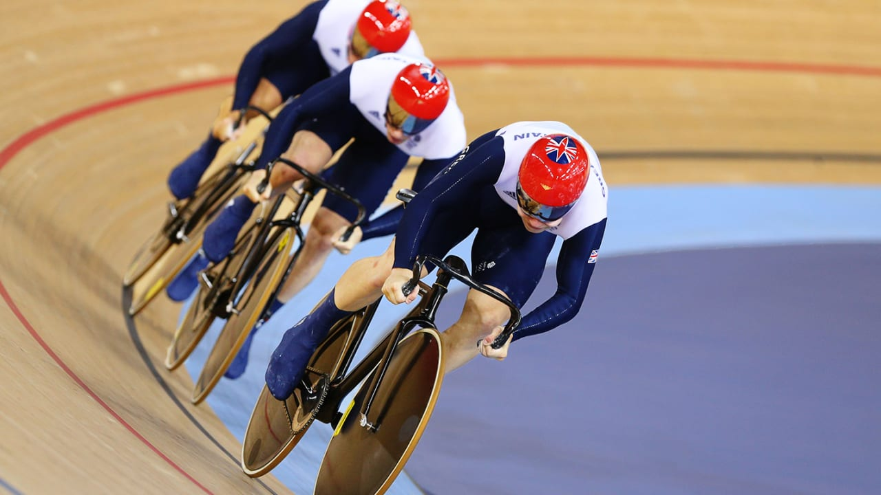 Team GB pedal to Team Sprint gold | London 2012 Replays
