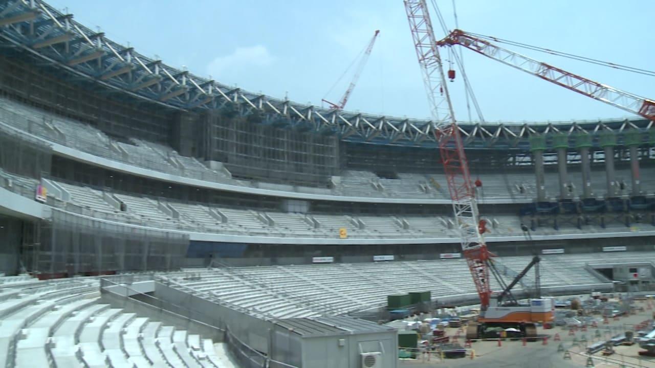 東京2020開幕まであと2年、オリンピックスタジアムの建設工事は順調