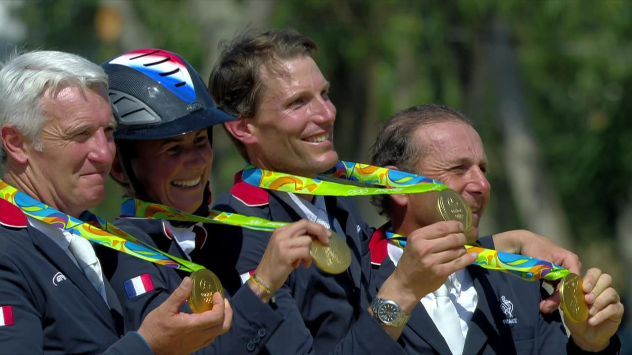 France win equestrian jumping team gold