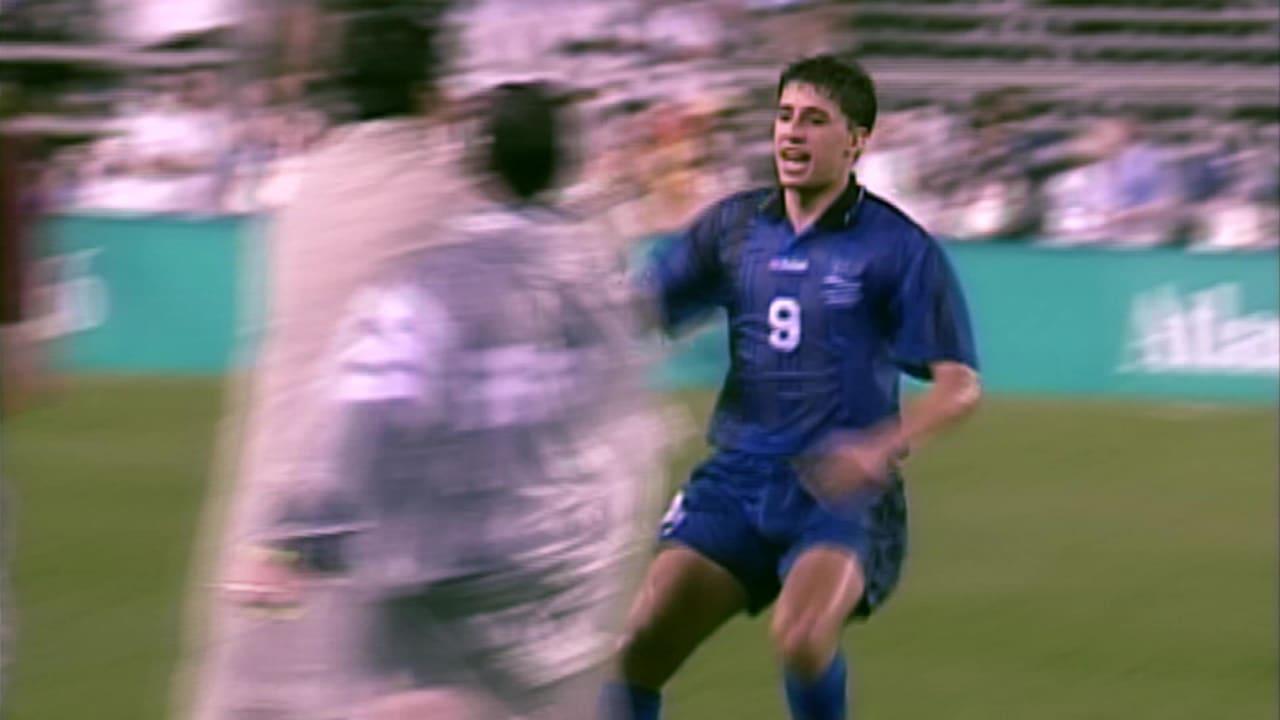 エルナン・クレスポがアタランタ1996の6試合で6ゴール