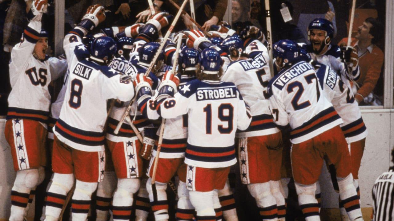 The USA upset the Soviet Union to win men's ice hockey | Lake Placid 1980