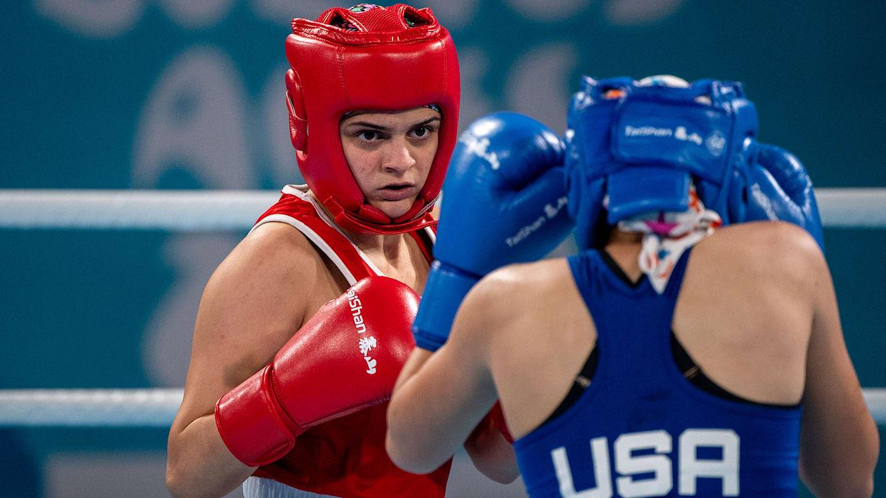 女子フライ級(48-51kg)決勝 - ボクシング   ブエノスアイレス2018