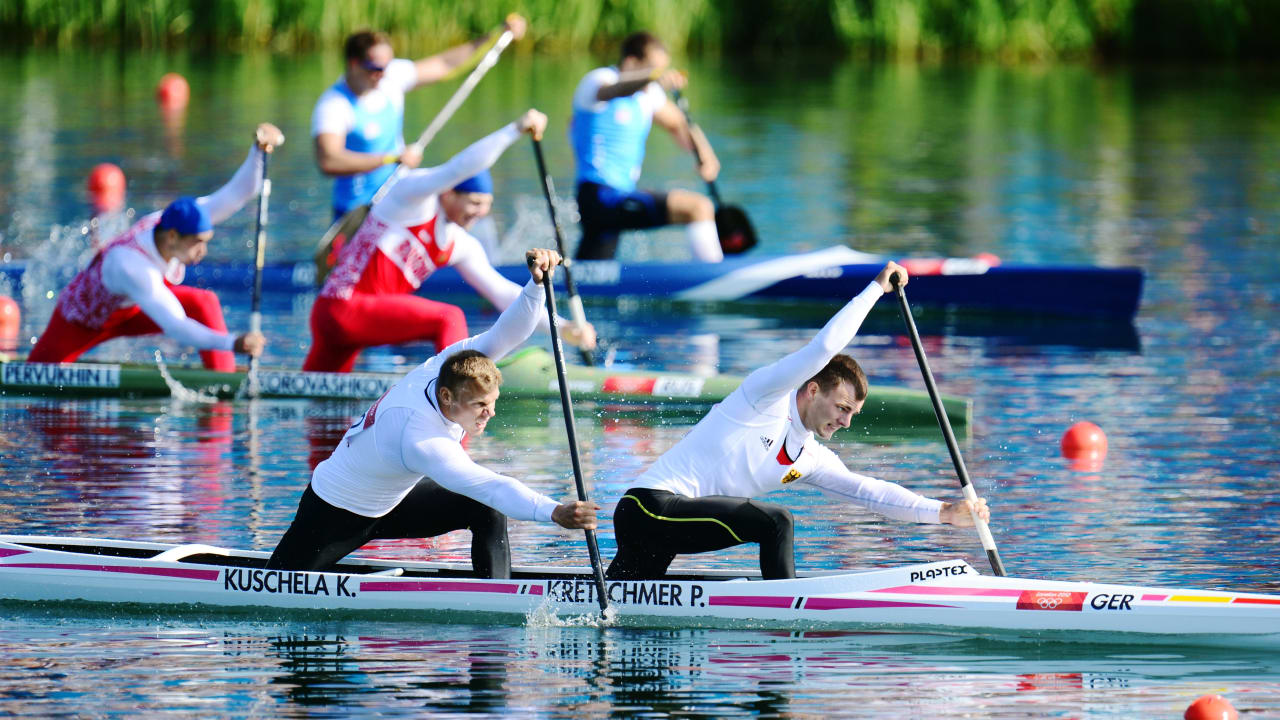 The beauty of Canoe Sprint