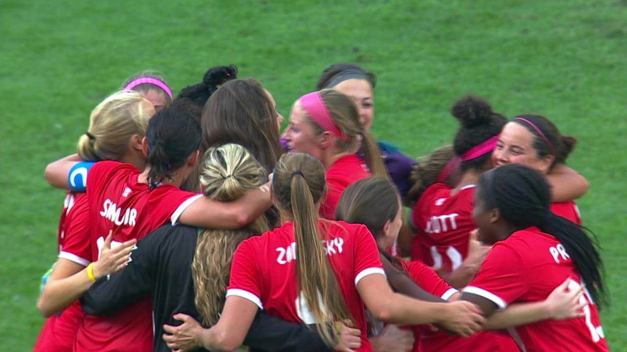 サッカー女子3位決定戦 | リオ2016リプレイ