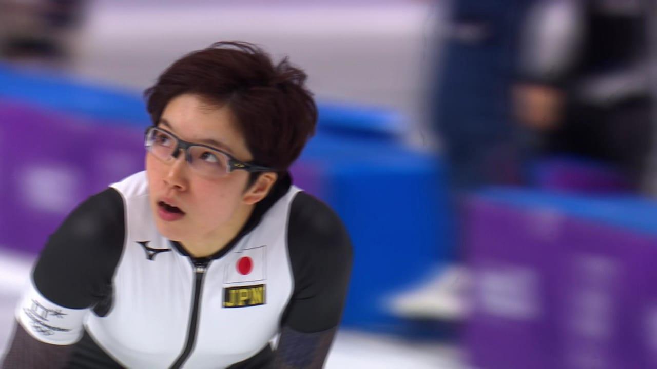 女子500m、14組の小平が日本に金メダルもたらす | スピードスケート