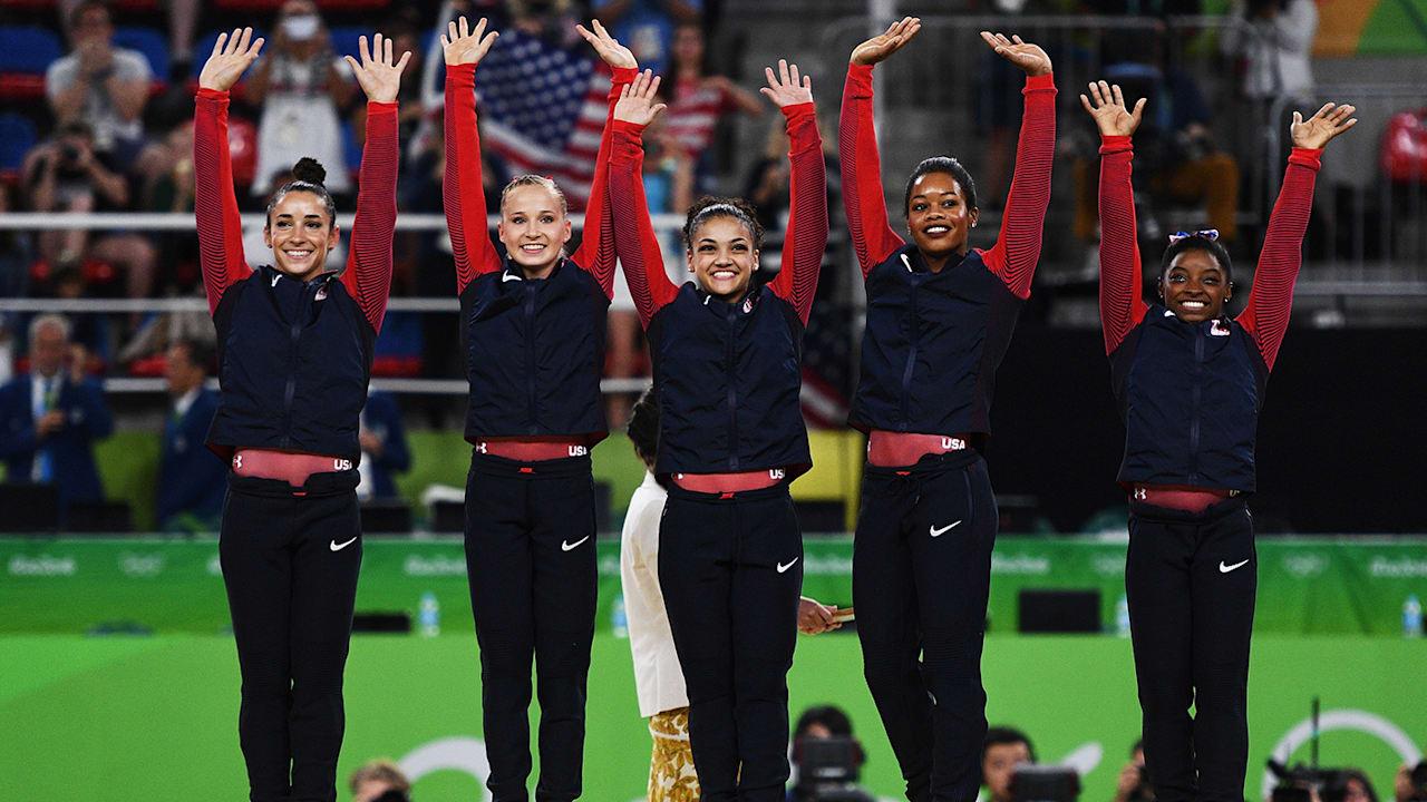 Laurie Hernandez describes USA gymnastics' 'Final Five' in one word