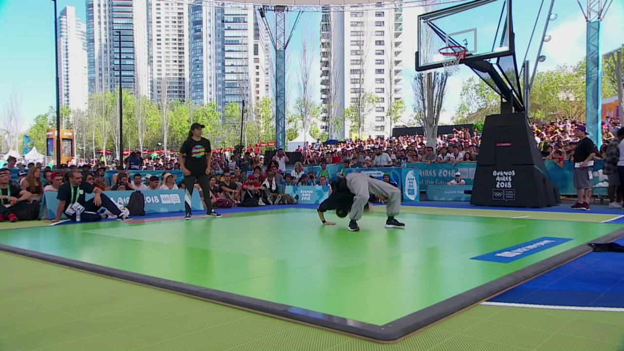 Behind the scenes at the YOG breaking final