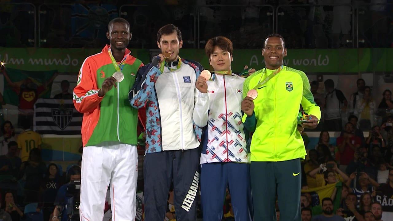 イサエフがテコンドー80kg超級で金メダル獲得