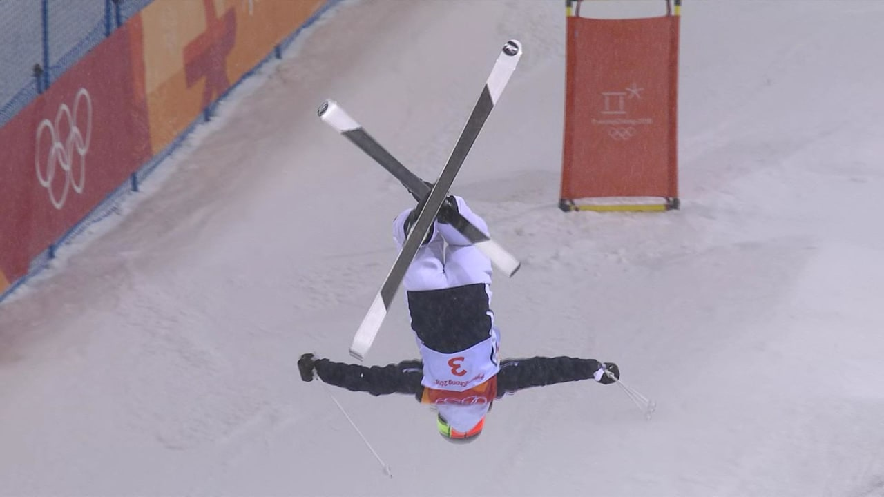 Perrine Laffont's Gold medal round in the Women's Moguls | Freestyle Skiing