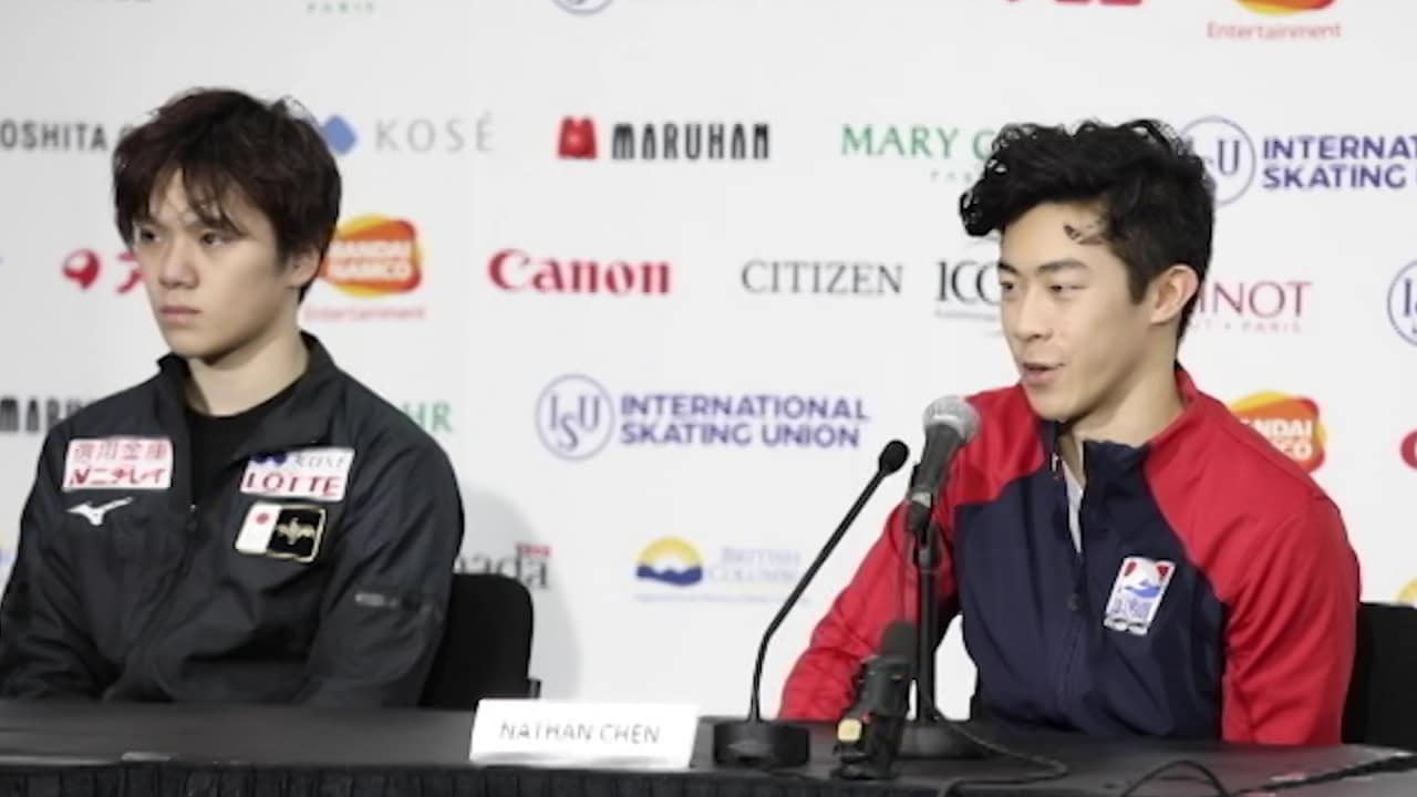 Nathan Chen leads GP Final winner's press conference